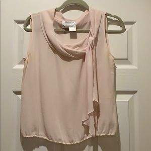 Max Mara Pink Silk Top